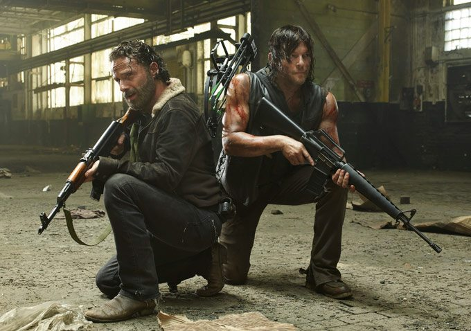 Walking Dead's Rick,Daryl-Season 5