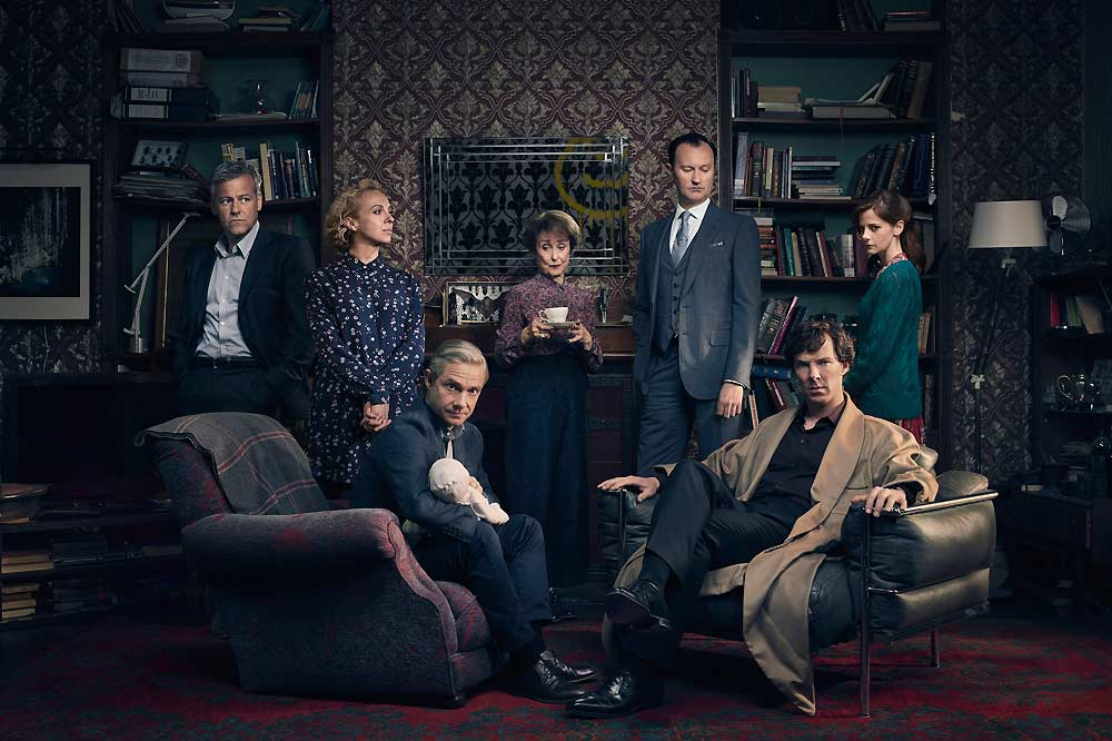 The Cast of Sherlock - Season 4-PBS