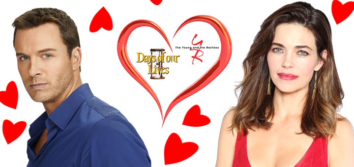 DAYS And YampR Stars Celebrate Valentines Day The TV