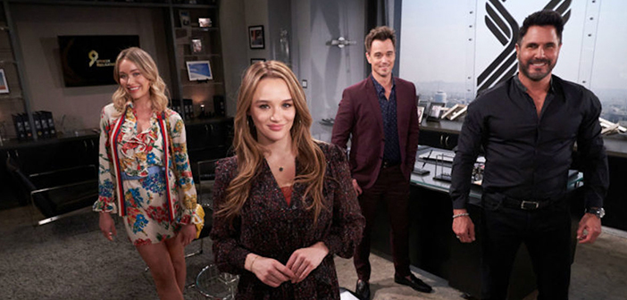 young and the restless bold and the beautiful crossover summer digs for dirt on sally