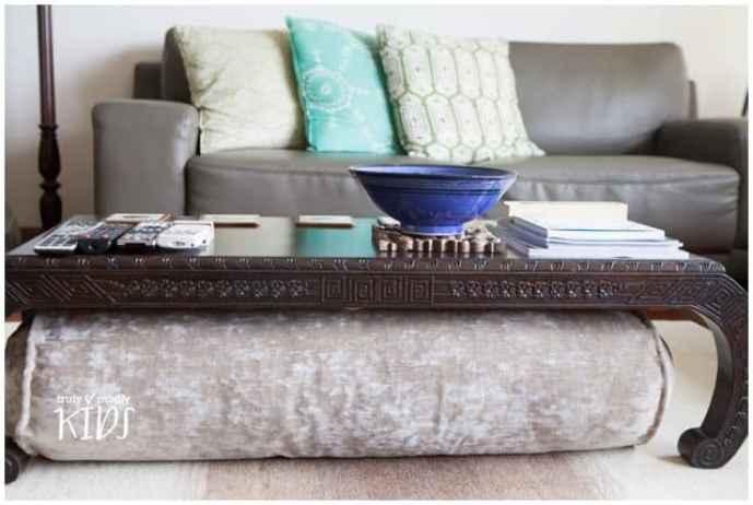 home etc - how to make a bolster cushion