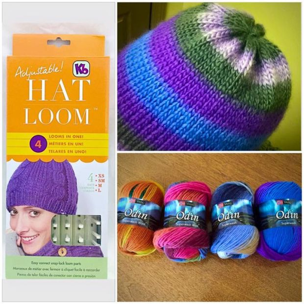 Introduction To Loom Knitting At The Twisted Purl