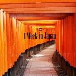 1 Week in Japan