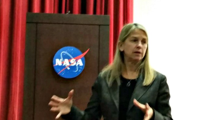 Dava Newman, NASA Deputy Administrator. Another terrible picture. I was off my game!