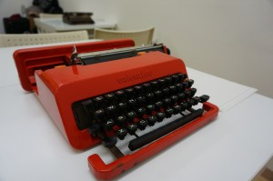I could not believe it. This is one of the most beautiful designs for a typewriter.