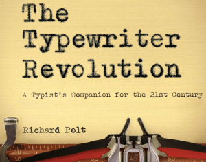 Typewriter Revolution Cover