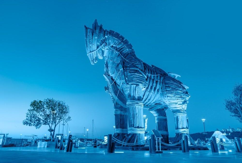Beware Of Trojan Horses And Strangers Bearing Gifts.