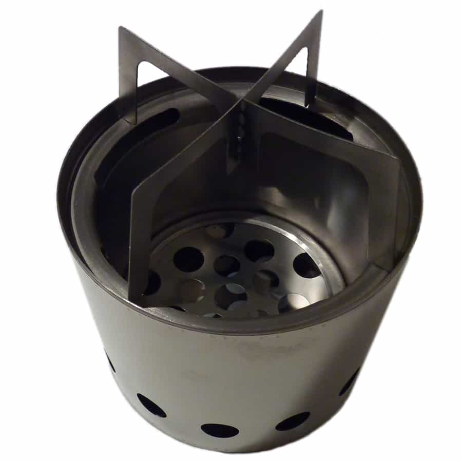 A lighter stove