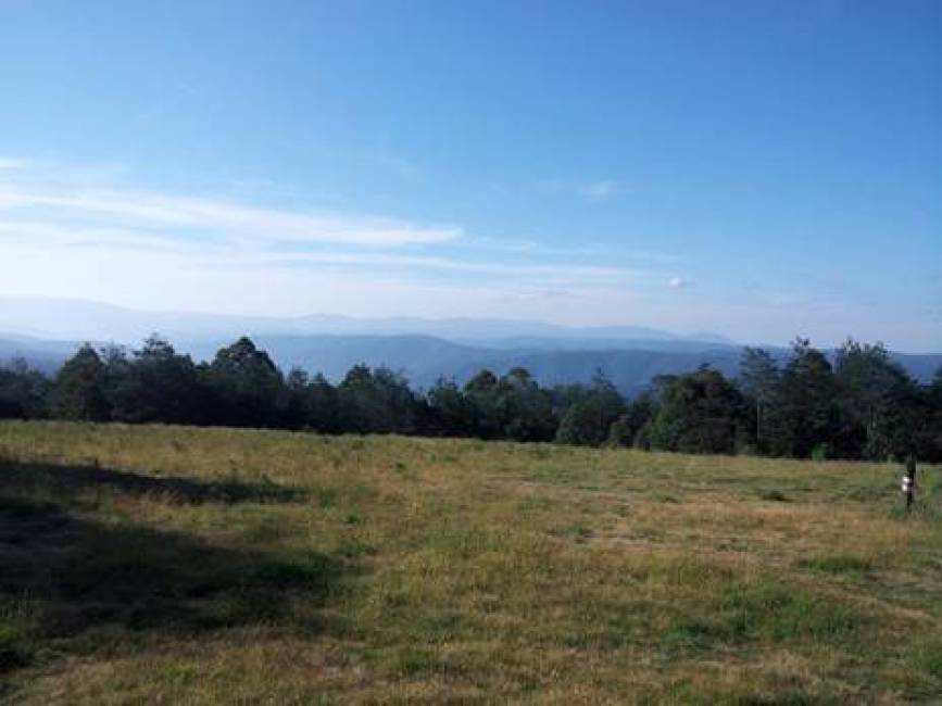 View from Mt Horsefall across the Yarra Ranges