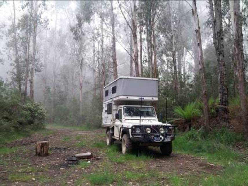 Camp in the Mist Block 10 Rd near Toorongo