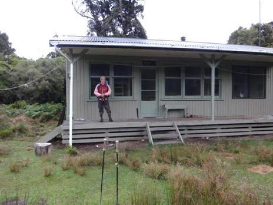 DOC hut Waitutu River.