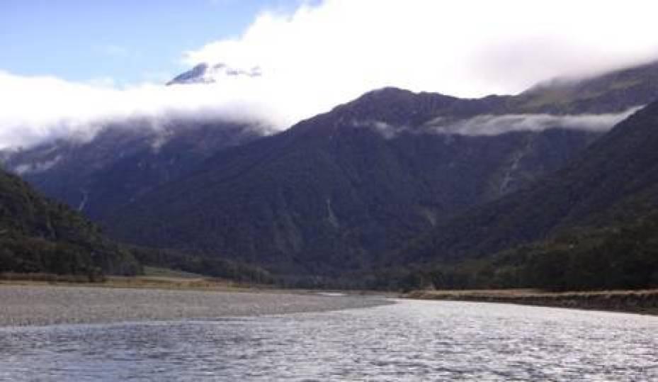 Wilkin River view upstream.