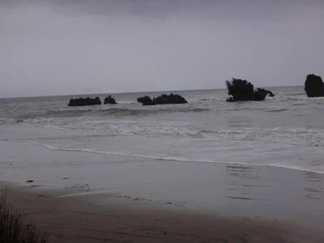 Blowholes Beach.