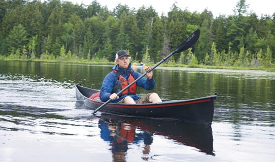 Lightest Carbon Fibre Canadian Canoe