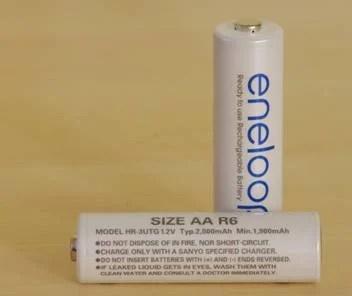 ENELOOPS: Rechargeable Batteries