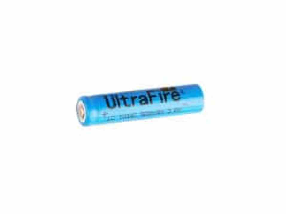 Ultrafire 10440 AAA size rechargeable lithium 3.6 volt battery