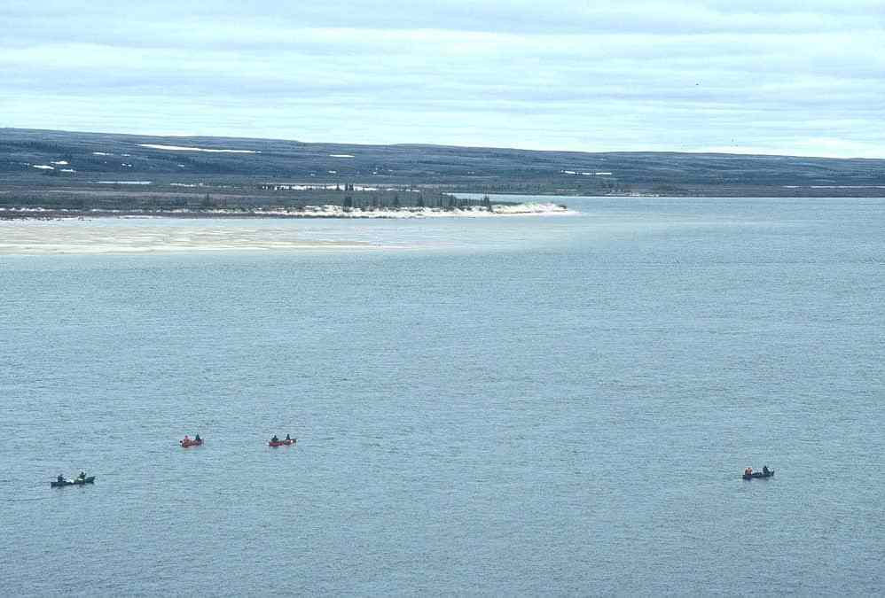 Thelon River in the Canadian Arctic