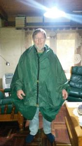 Hoodless Poncho