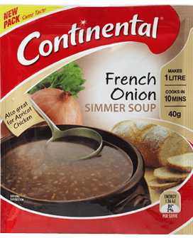 Hiking Food: French Onion Soup Plus: