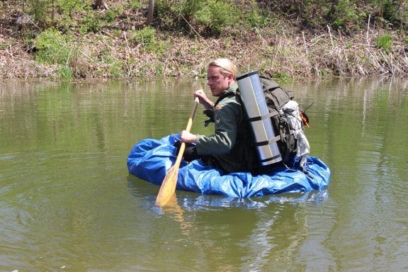 More Emergency Boats: The Tarp Boat: