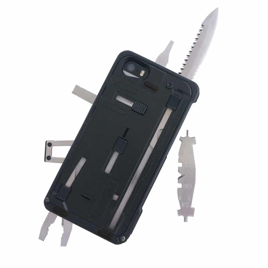 Phone case multi-tools: