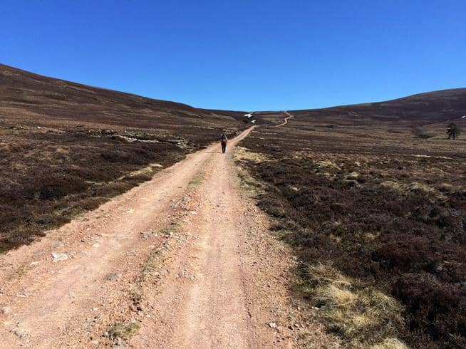 Hillwalking across Scotland:
