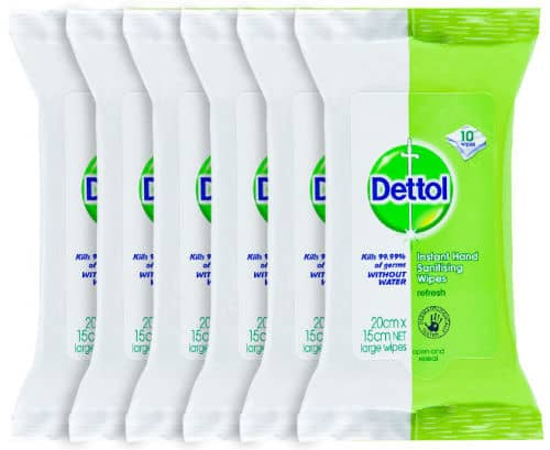 Dettol Hand Sanitising Wipes