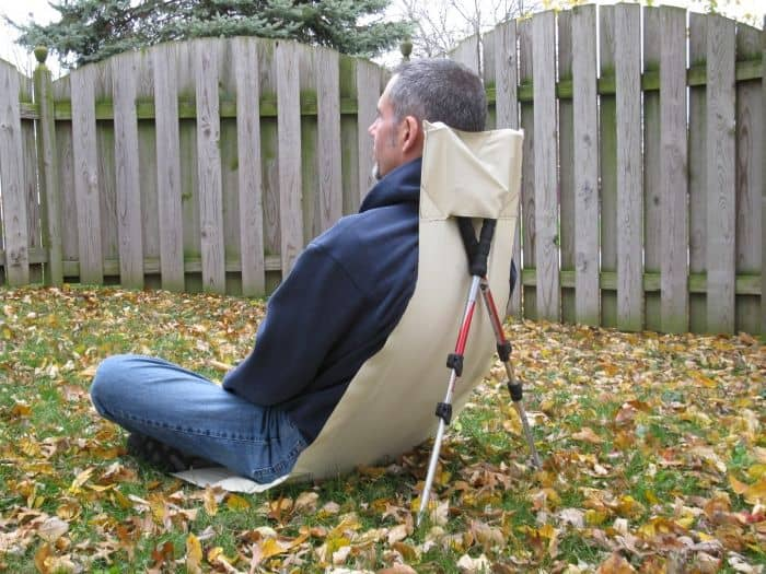 Ultralight Chair/Groundsheet: