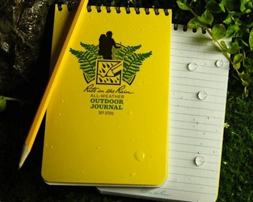 Waterproof Notepads: