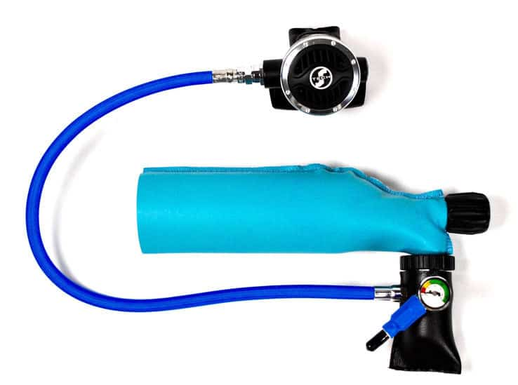 A Mini Rechargeable Aqualung: