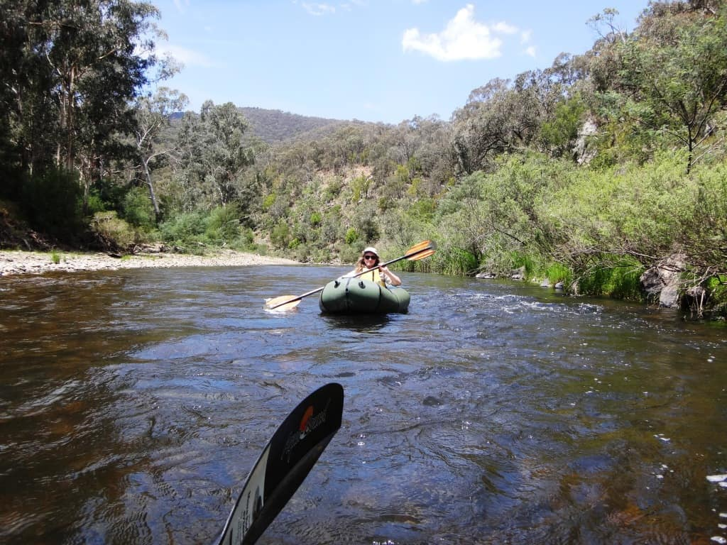 Canoeing the Wonnangatta, Catching the Wave: