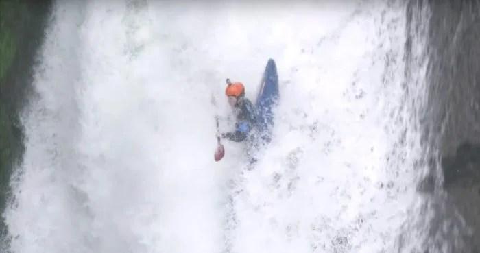 Extreme kayaking: