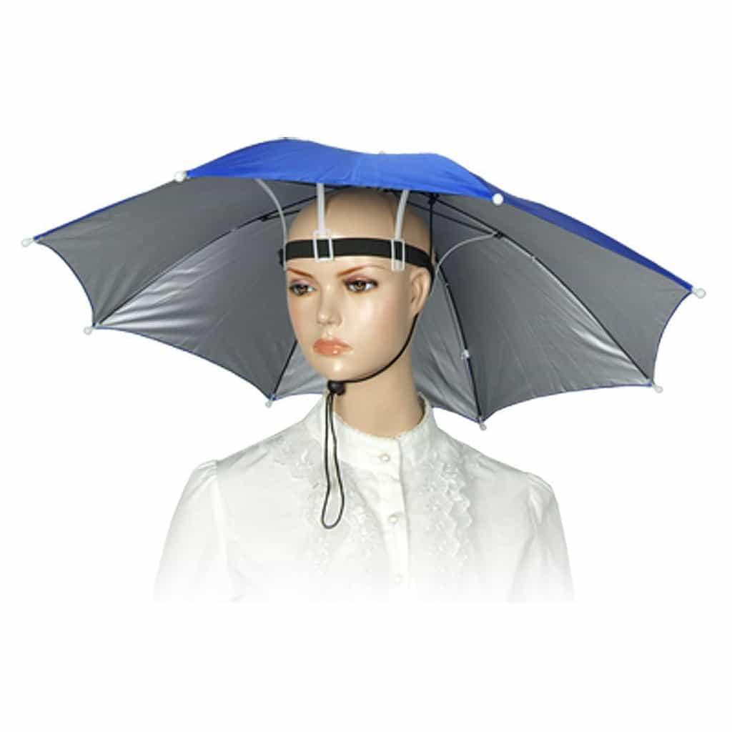 A Hands Free Umbrella: