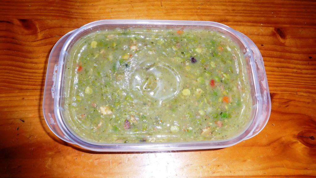 Trail Pea and Ham Soup: