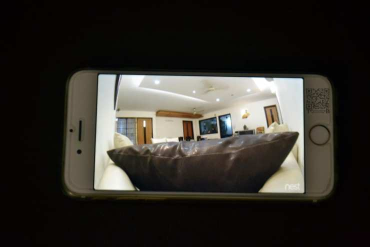 nest cam home preview