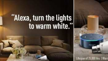 Syska smart lights with Amazon Alexa support launched in India