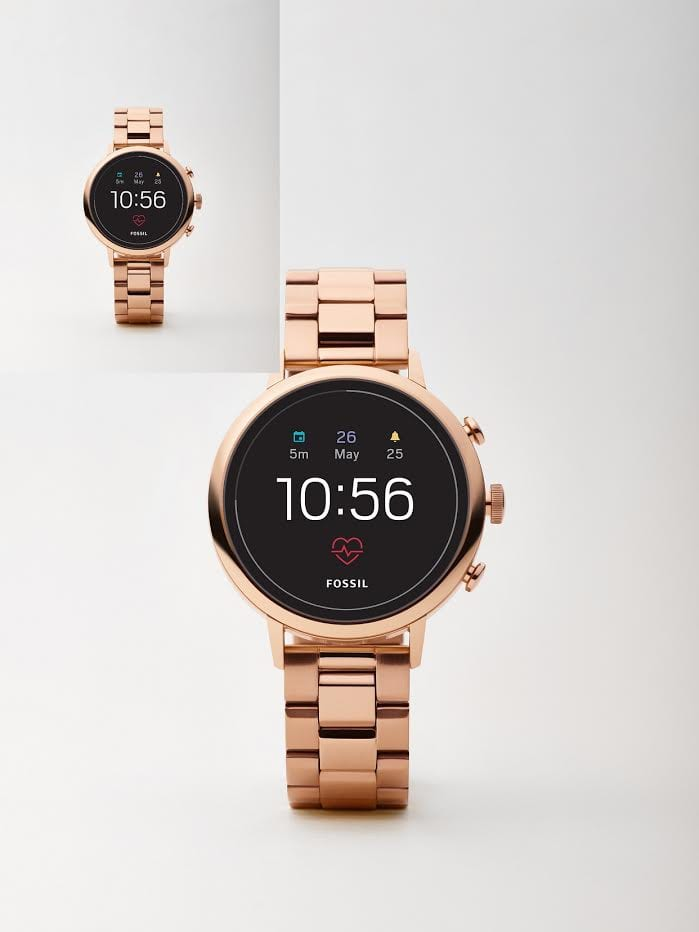 Fossil Q Venture HR and Fossil Q Explorist HR