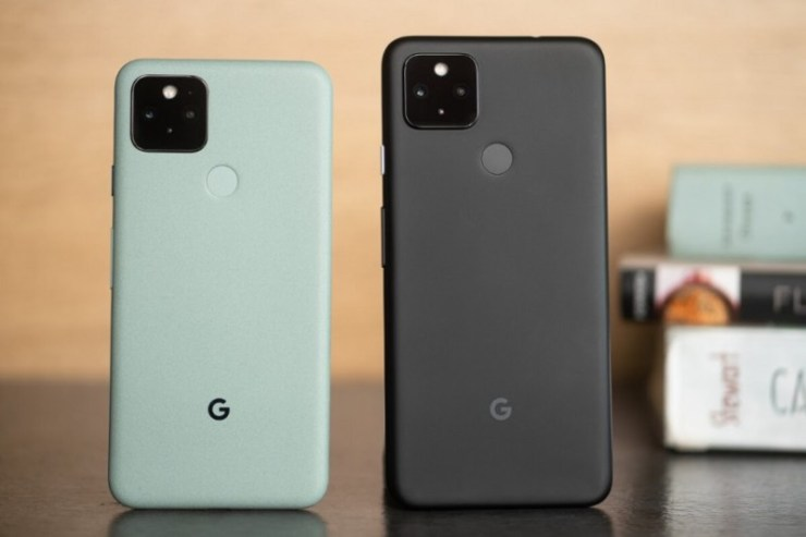 Pixel 4a 5G and Pixel 5