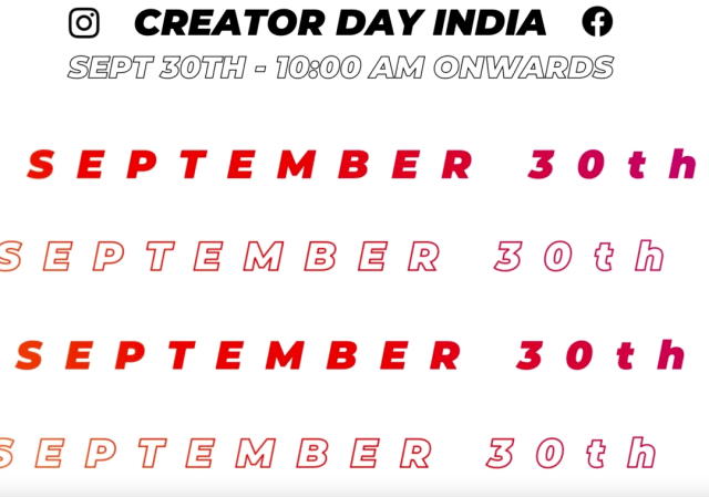 Instagram and Facebook announce Creators Day