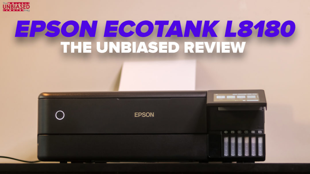 Epson EcoTank L8180: The Printer, Scanner, Copier that does it all like a Pro – The Unbiased Review