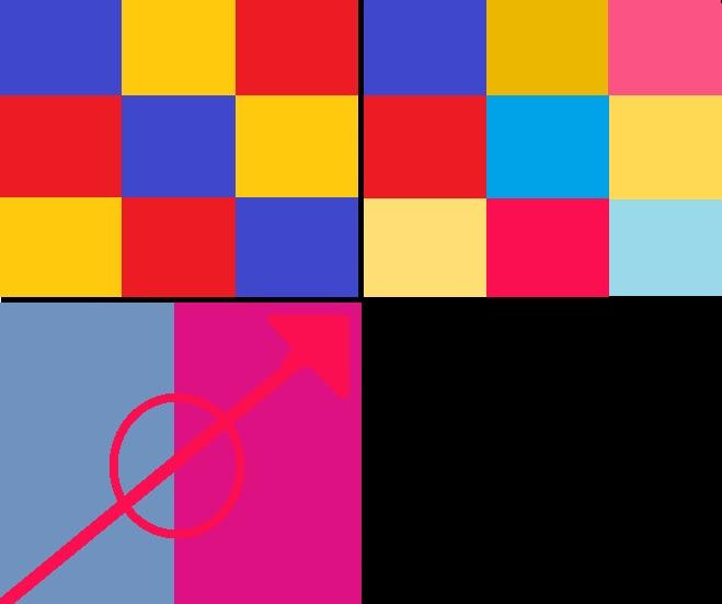 22- Saturation & Simultaneous Color Composition
