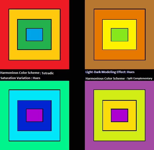 23- Quilt Block Color Composition