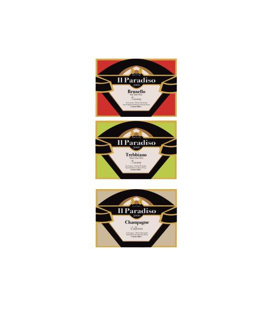 68- Wine Label Design