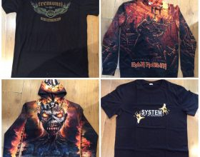 ROCK AND METAL BAND MERCH