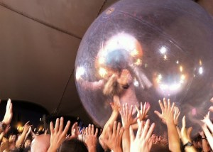 Wayne Coyne & His Bubble