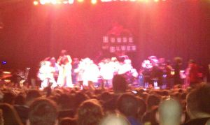 Strength in numbers. P-Funk @ House of Blues Boston. (Photo - D. Hixon)