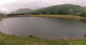 Harviestoun fishery lochan
