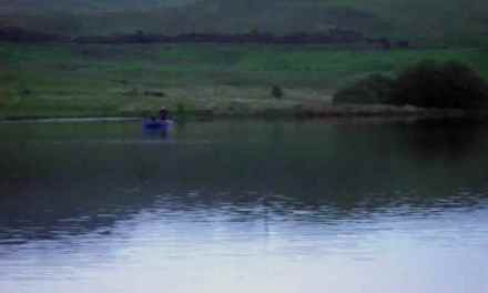 The two men in the boat