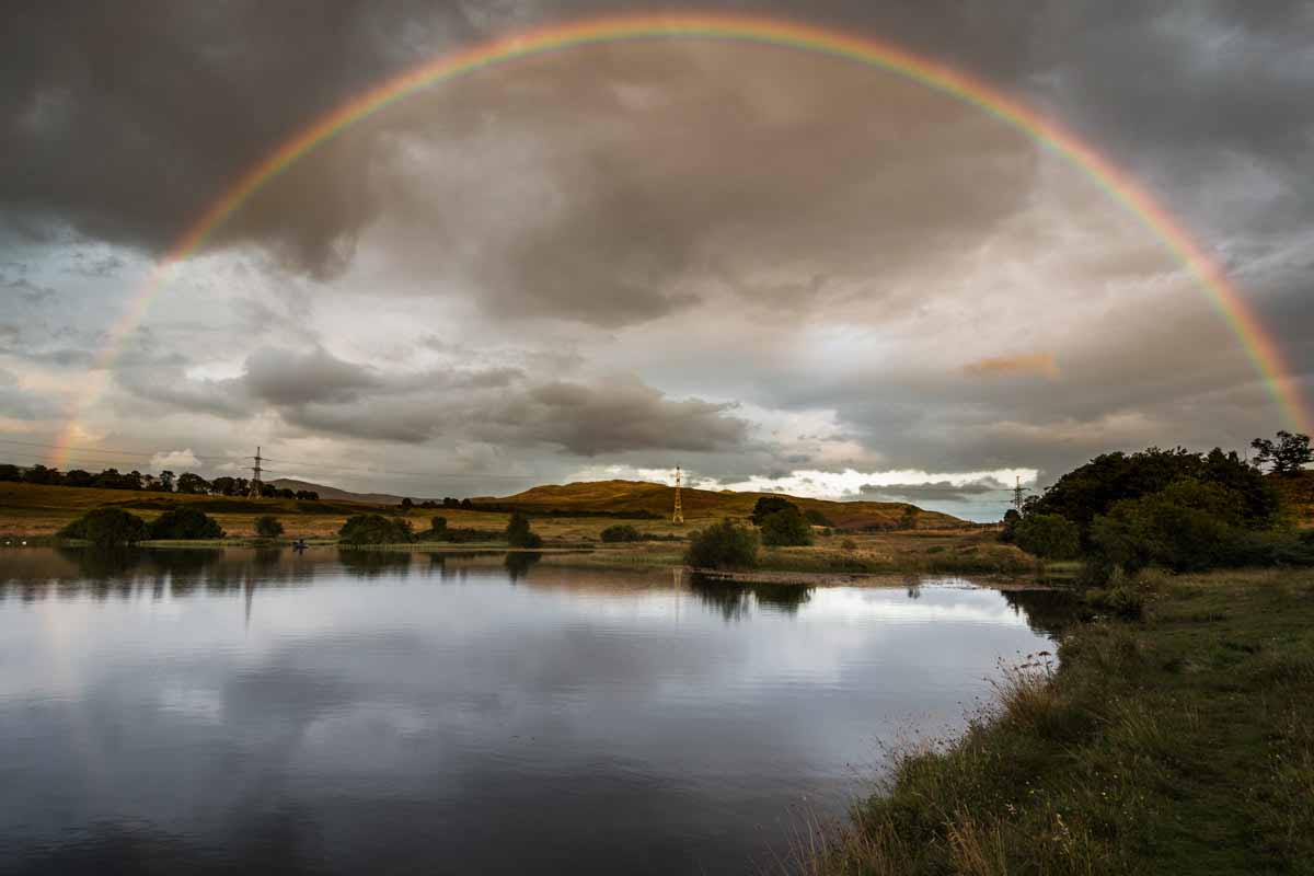 The Fisherman, his Dog and the Rainbow