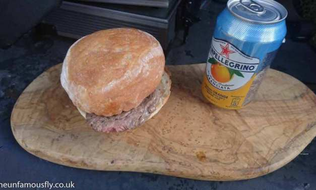 All that way for a Steak Sandwich…. and Let's Tackle Cancer